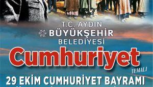 Aydın Büyükşehir Belediyesi'nden Cumhuriyet Temalı Resim Şiir ve Kompozisyon Yarışması