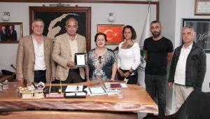Devrek Belediye Başkanı Çetin Bozkurt DUMED'i ağırladı