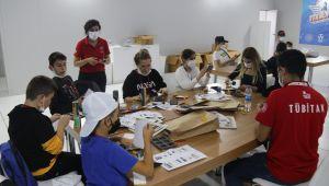 Ergene'de Öğrenciler Teknofest Fuarını Gezdi