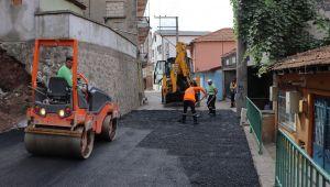 İzmit Belediyesi'nden Yenidoğan Mahallesi'ne Asfalt Yol Çalışması