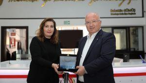 Menteşe Belediyesi'ne Tarihi Kentler Birliği'nden Başarı Ödülü