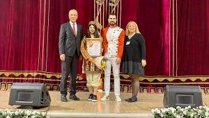 Mezitli Belediyesine Rusya'dan Müzik Ödülü Geldi