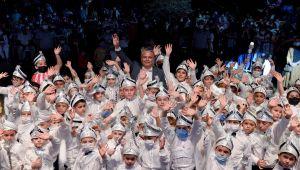 Muratpaşa Belediyesi 7. sünnet şöleni gerçekleşti