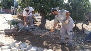 Turgutlu Belediyesinden Simge Sokağa 8500 m2 Asfalt Çalışması Devam Ediyor