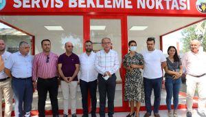 Turgutlu'da 4 Modern Bekleme Noktası Halkın Hizmetinde