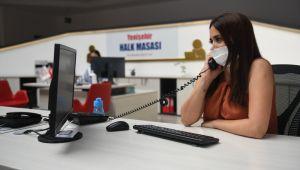 Yenişehir Halk Masası 52 bin 525 talebi sonuçlandırdı