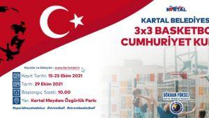 3X3 Cumhuriyet Kupası Basketbol Turnuvası İçin Geri Sayım Başladı