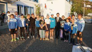 Bodrum Uluslararası Optimist Şampiyonasında Dereceye Girenler Ödüllerini Aldı