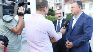 Başkan Savaş Televizyon Programında Hatay'ı Anlattı