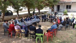 Başkan Taylan Bozan Köyünde Hemşerileriyle Buluştu