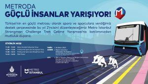 İstanbul'un Metrosunda Güç Gösterisi