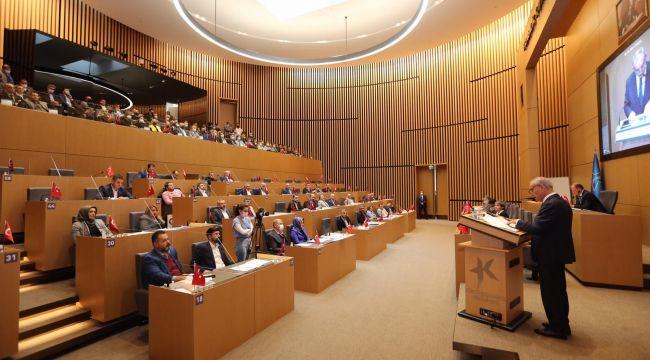 Küçükçekmece Belediyesi 2022 Yılı Performans Planı ve Bütçesi Görüşüldü