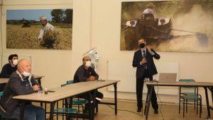 Nilüfer Belediyesi Çiftçi Evi'nde Zeytin Yetiştiriciliği Eğitimi