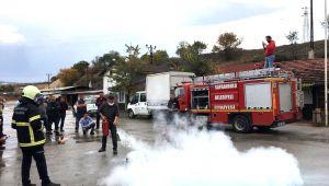 Safranbolu Belediyesi Yangın Tatbikatı