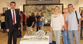 Bodrum'da 'Yıl Sonu Sergisi' açıldı...