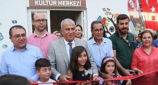 Efeler'de Serçeköy Kültür Merkezi heyecanı yaşandı